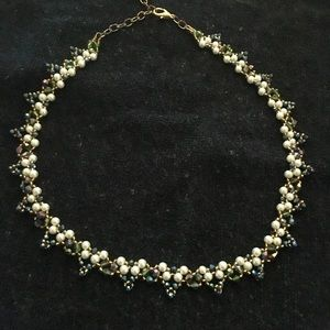 """Necklace. Beaded. Unique. Holiday. 16"""" chain"""